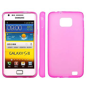 Lisa hood, TPU rubber, for Samsung Galaxy S (Pink)