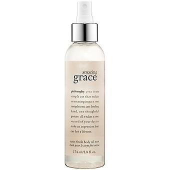 Filosofi Amazing Grace Satin Finish Body olje tåke 174ml/5,8 oz