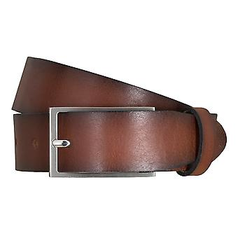 SAKLANI & FRIESE belts men's belts leather belt Brown 5112