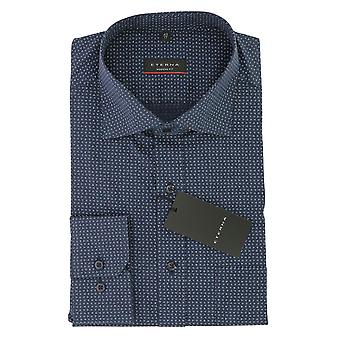 ETERNA men's leisure shirt modern fit with Kent collar leisure shirt Gr. 44 blue