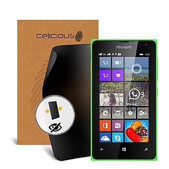 Celicious Privacy Microsoft Lumia 435 2-Way Visual Black Out Screen Protector