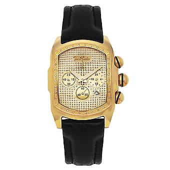 Joe Rodeo diamond men's watch - KING gold 0.36 ctw
