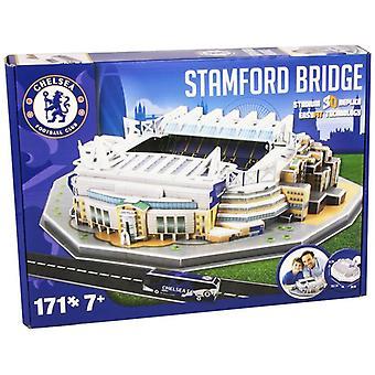 Chelsea Stamford Bridge Stadium 3D Puzzle