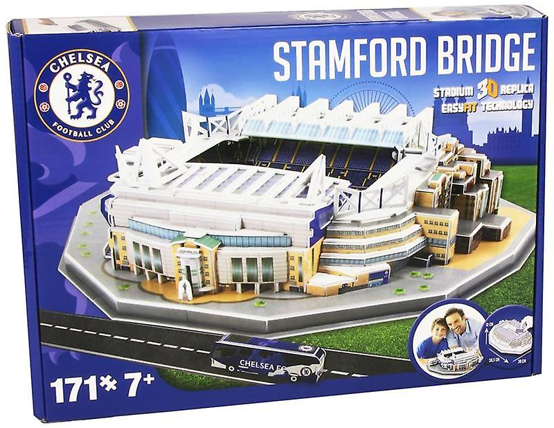 Puzzle 3D de stade Stamford Bridge de Chelsea