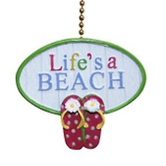 Naturalezas muertas un ventilador de techo tema costero playa sandalias divertido tirar