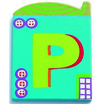 Djeco Cottage letter - P (Decoration , Child's , Decorative Accessories)