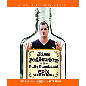 Jim Jefferies: Volledig functionele [Blu-ray] USA import
