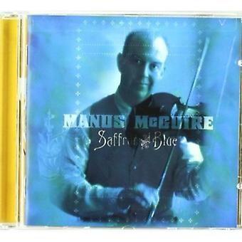 Manus McGuire - Saffron & Blue [CD] USA import