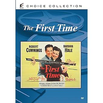First Time (1952) [DVD] USA import