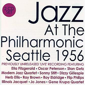 Jazz på Philharmonic Seattle 1956 - Jazz på Philharmonic Seattle 1956 [CD] USA importerer