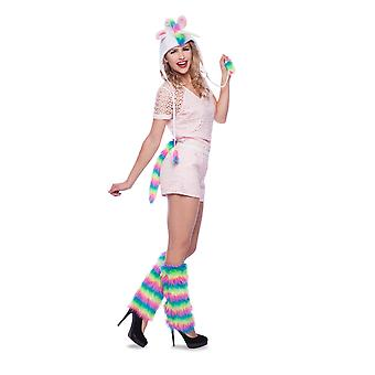 Unicorn Rainbow costume set hat and tail Unicorn