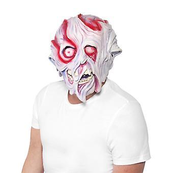 Grusel Maske Geschmolzenes Gesicht Halloween Melted Face