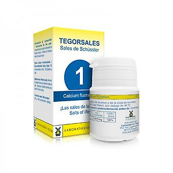 Laboratorios Tegor Calcium Fluor Vitamin D6 Tegorsales N1 350 Tablets (Diet)