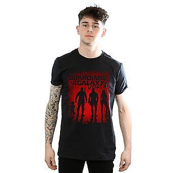 Marvel Men's Guardians of the Galaxy Shadows T-Shirt