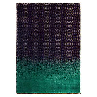 Dipgeo Teal bleu & rouille tapis abstrait - Ted Baker 58408