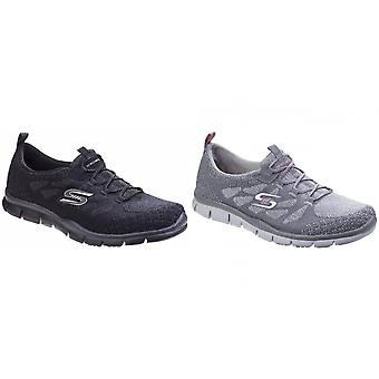 Skechers Womens/Ladies Active Gratis Sleek And Chic Slip On Trainers