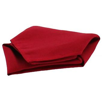 David Van Hagen Satin Silk Handkerchief - Wine
