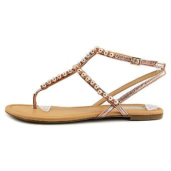 INC International Concepts Womens Madigane Split Toe Casual Flat Sandals