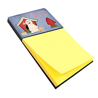 Dog House Collection Great Pyrenese Sticky Note Holder