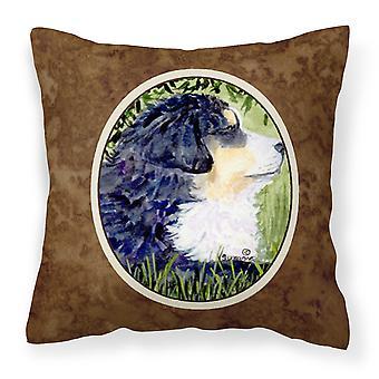Carolines Treasures  SS8832PW1414 Bernese Mountain Dog Decorative   Canvas Fabri