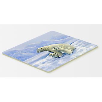 Eisbären von Daphne Baxter Küche oder Bad Mat 20 x 30