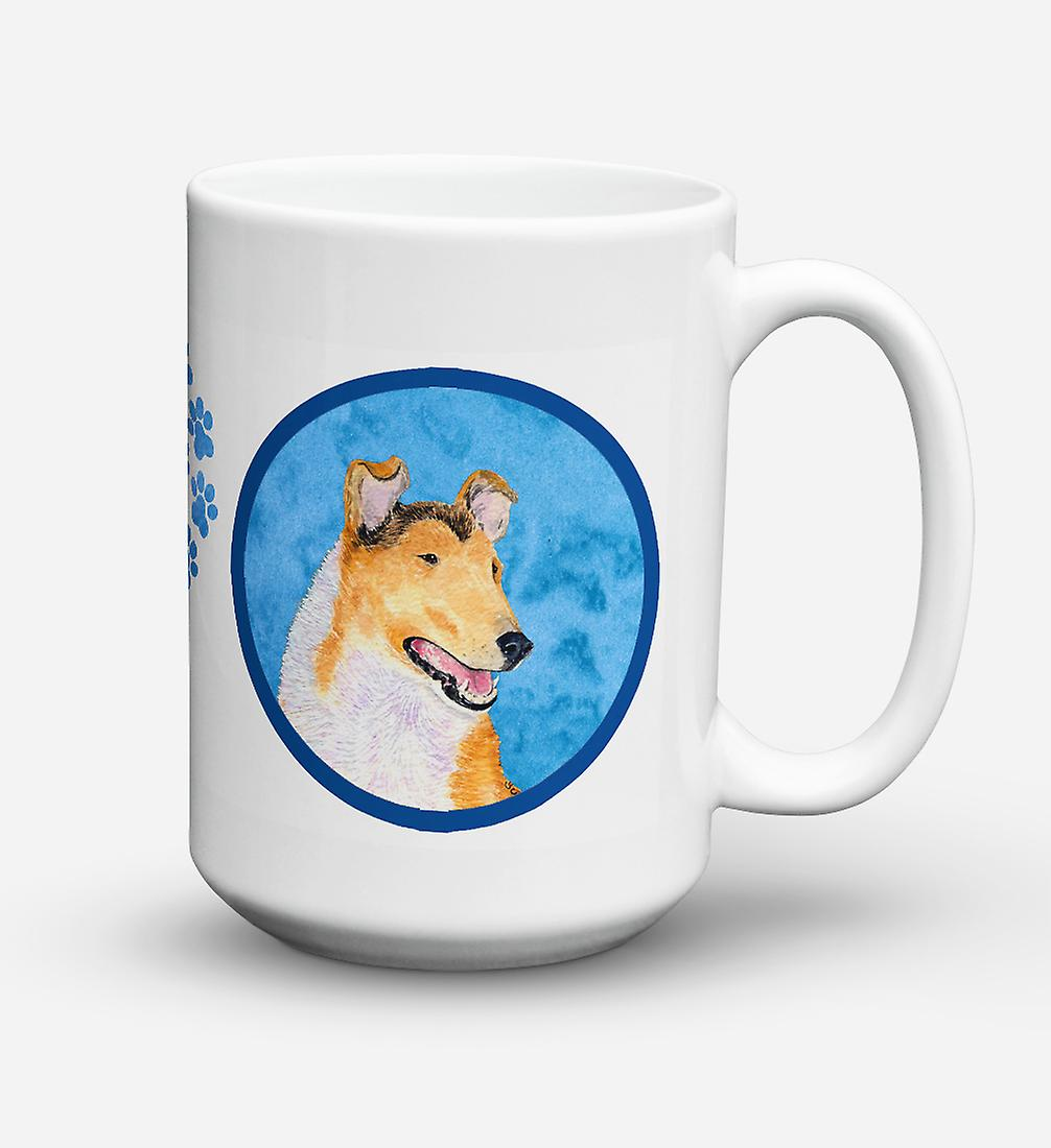 Collie Mug Once Céramique Café Smooth De ondes Ss4746 Pour Micro Lave vaisselle 15 Sûre JlFKTc1