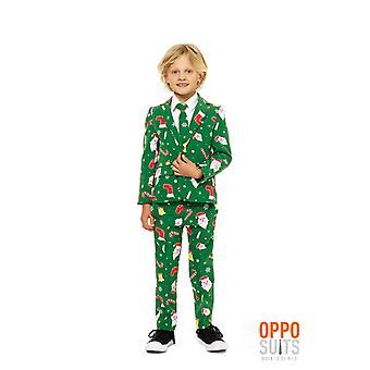 Santaboss children Christmas suit suit Opposuit slimline Premium 3-piece set