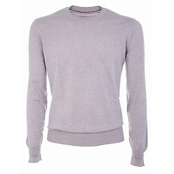 Brunello Cucinelli men's M2900100CD413 pink cotton sweater