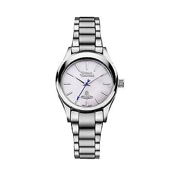 Vivienne Westwood Vv111sl Holloway Mother Of Pearl Dial & Silver Stainless Steel Ladies Watch