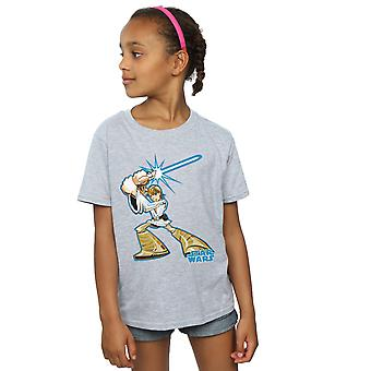 Star Wars Girls Luke Skywalker Character T-Shirt
