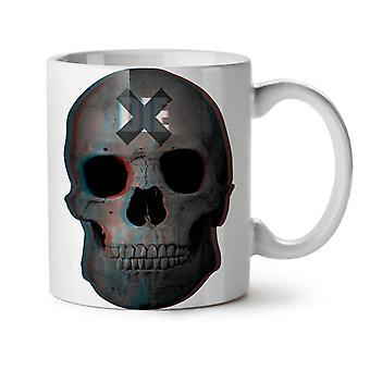Muere Rock Goth Metal nuevo té blanco taza de café de cerámica 11 oz | Wellcoda