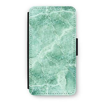 Samsung Galaxy J3 (2016) Flip Case - grønn marmor