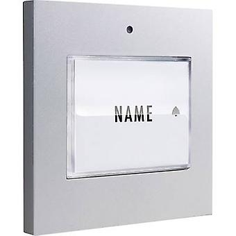 Bell button backlit, with nameplate Detached m-e modern-electronics