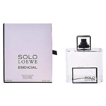 Loewe Solo Esencial Eau De Toilette Vapo 100ml New Mens Fragrance Perfume Sealed