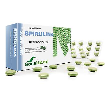 Soria Natural Spirulina 60 Tablets (Diet , Supplements)