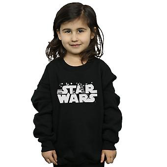 Star Wars Girls minimalistisches Logo Sweatshirt