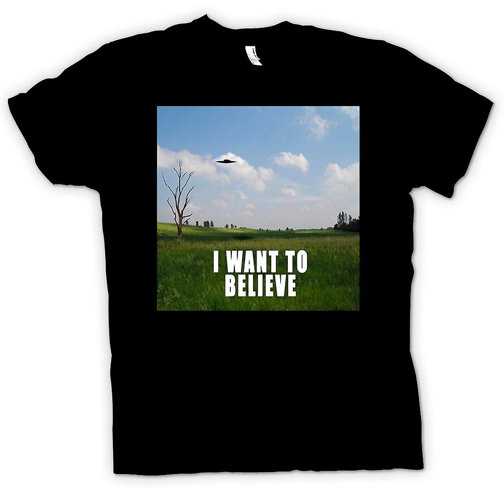 Womens T-shirt - I believe - Colour - Funny