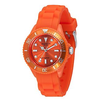 Candy time by Madison N.Y.. watch mini L4167-04 orange