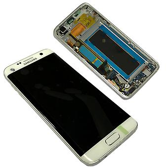 Display LCD complete set GH97 18533D white for Samsung Galaxy S7 edge G935 G935F
