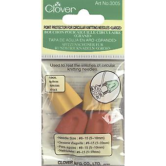 Point Protectors For Circular Knitting Needles-Sizes 8 To 15 4/Pkg