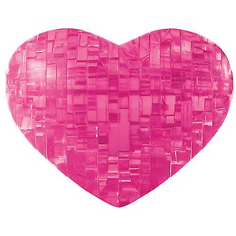 3-D Crystal Puzzle -Heart