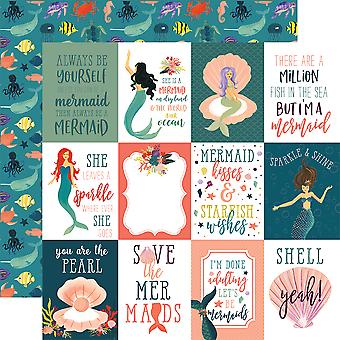 Mermaid Tales Double-Sided Cardstock 12