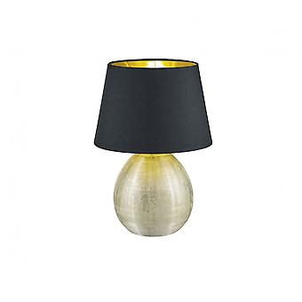 Trio Lighting Luxor Modern Gold Ceramic Table Lamp
