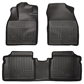 Husky Liners Front & 2nd Seat Floor Liners Fits 13-15 Prius Plug-In