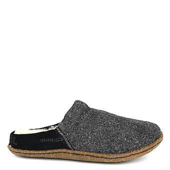 Sorel Nakiska Black And Natural Slipper