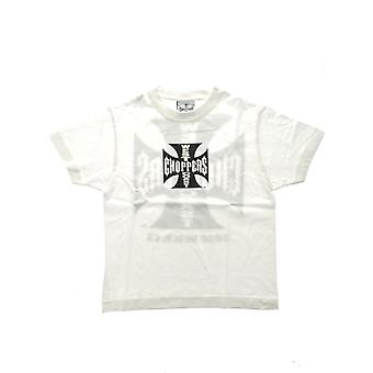 West Coast Choppers White Original Cross Kids T-Shirt