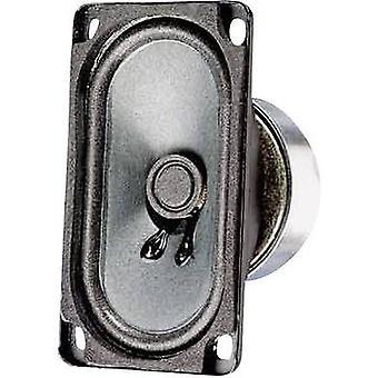 2.9 7,5 cm Wideband høyttaler kabinett Visaton SC 5.9