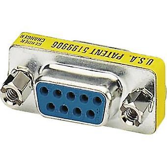 Series, Parallel Adapter [1x D-SUB socket 9-pin - 1x D-SUB socket 9-pin] 0 m Yellow Phoenix Contact