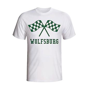 VfL Wolfsburg Waving flag t-shirt (bianco)