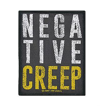 Nirvana Negative Creep Woven Patch